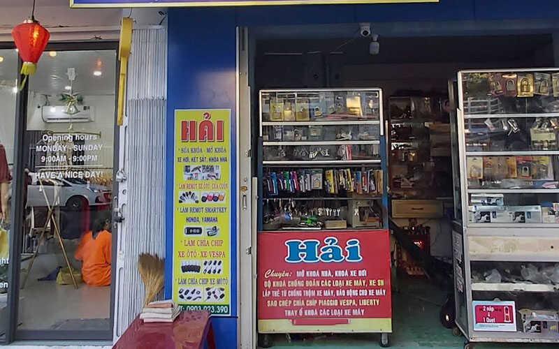 Cửa hàng Sửa Khóa Hải