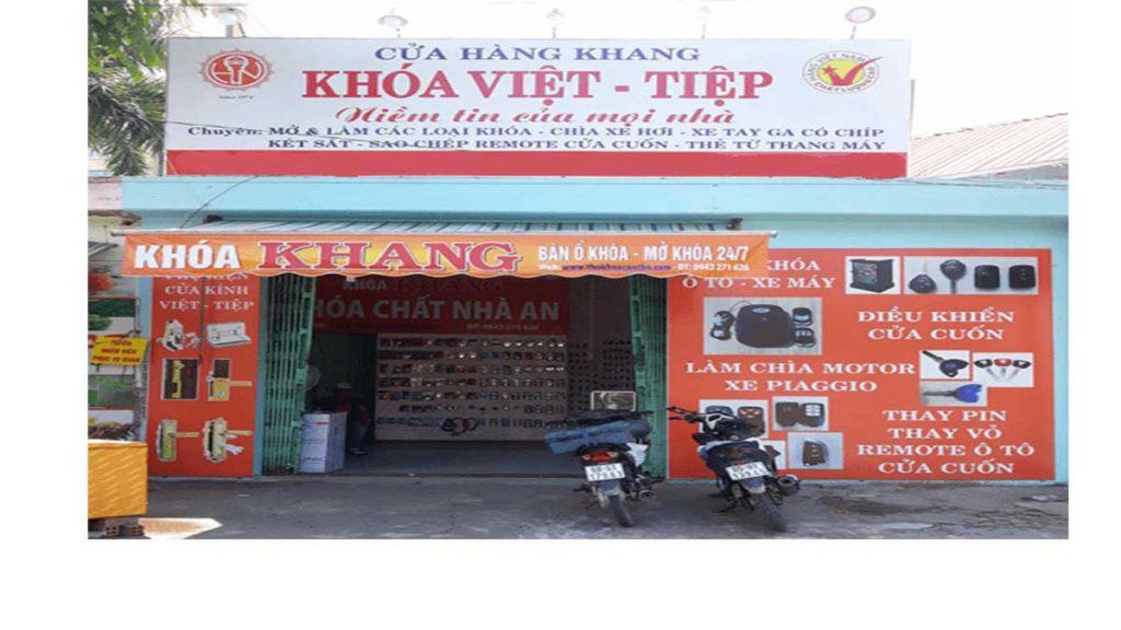 Hàng sửa khóa Khang