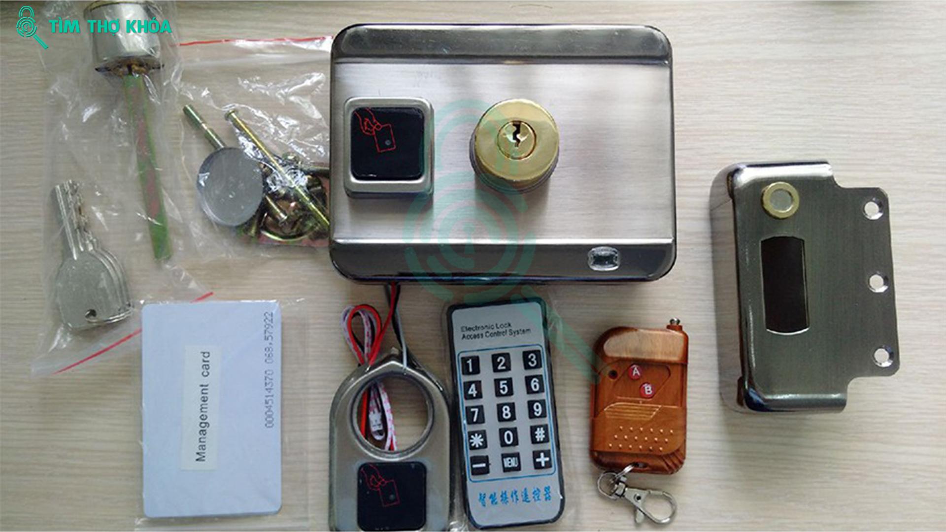 smart rim lock